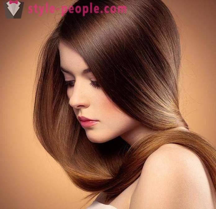 Technologie de teinture des cheveux ton sur ton